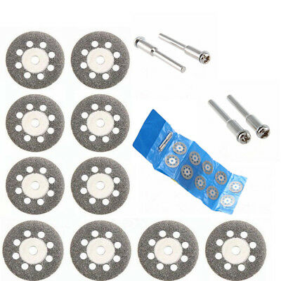 10x Craftsman Diamond Cutting Wheel Blades Discs Cut Off Set Dremel Rotary Tool