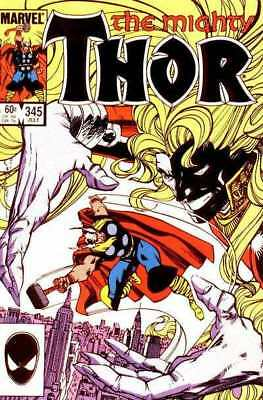 Thor (1966 series) #345 in Very Fine minus condition. Marvel comics