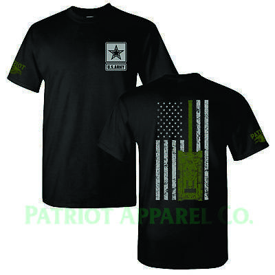 United States Army Military Veteran Soldier Star US USA Support T-Shirt Tee