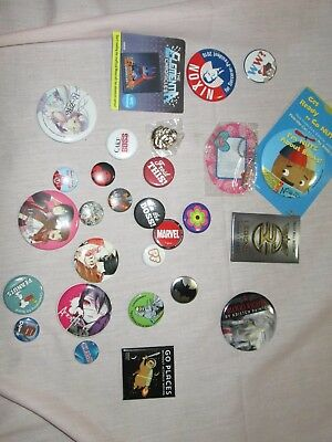 *28* PIECE PIN MIXED LOT  *MEMES* *ANIME* + Promos Items