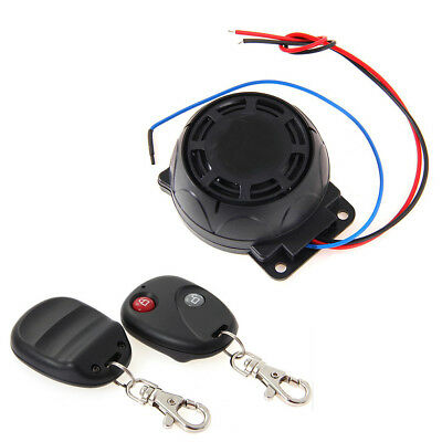 125db 12V Motorcycle Anti-theft Security Alarm System Remote Vibration Detector