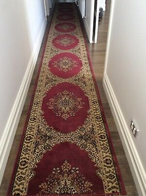 Traditional Red hallway runner
