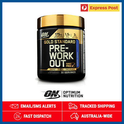 Gold Standard Pre Workout *Watermelon* by Optimum Nutrition 300g + Free Postage