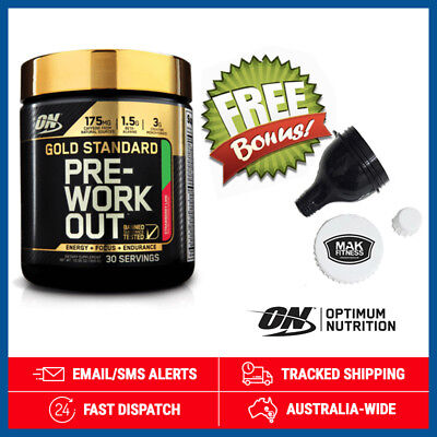 Gold Standard Pre Workout *Strawberry Lime* by Optimum Nutrition (300g) + Funnel