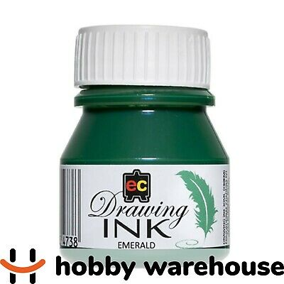 Educational Colours Drawing Ink 30ml - Emerald