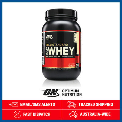 Gold Standard 100% Whey *Vanilla Ice Cream* by Optimum Nutrition (900g)