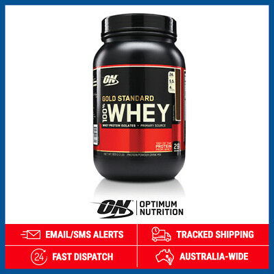 Gold Standard 100% Whey *Double Rich Chocolate* by Optimum Nutrition (900g)