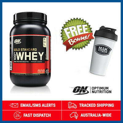 Gold Standard 100% Whey *Cookies & Cream* by Optimum Nutrition (900g) + Shaker