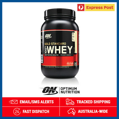 Optimum Nutrition Gold Standard 100% Whey Vanilla Ice Cream 900g + Free Postage