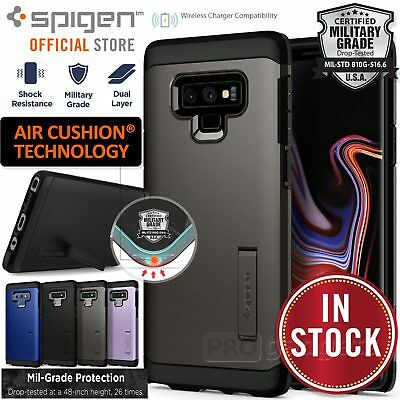 Galaxy Note 9 Case, Genuine SPIGEN Tough Armor Shockproof Hard Cover for Samsung