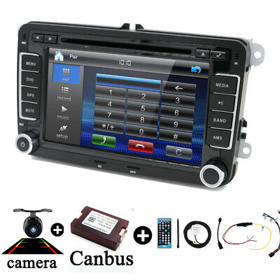 "7"" 2 Din Autoradio Navi 3G MIT Canbus Player Für VW PASSAT GOLF 5 6 POLO Caddy"