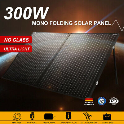 250W Solar Panel Kit 250 watt 12V Mono Caravan Power Banck & 20A Regulator