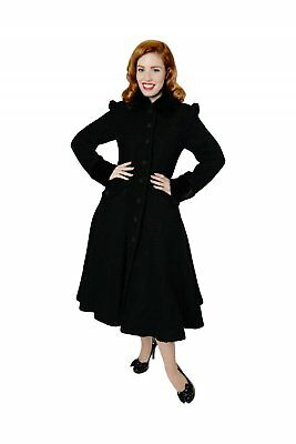 Collectif Vintage Annabelle Textured Princess Coat