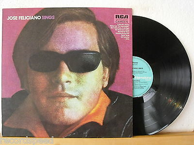 ★★ LP - JOSE FELICIANO - Sings - RCA Camden CDS 6020 - 1972