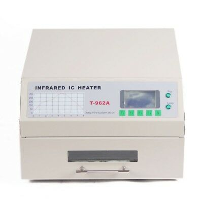 T962A Infrared SMD BGA IC Heater Automatic Reflow Oven Soldering Area 300×320mm