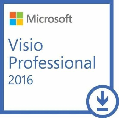 Microsoft Visio 2016 Full Version Online Delivery
