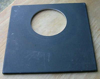 original Sinar  lens board panel for  copal  3 shutters with offset rise