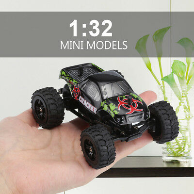 Virhuck 1:32 Scale Mini 2.4GHz 2WD Off-road RC Racing Truck 20km/h Speed Vehicle