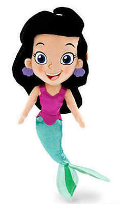 NEW Disney Store Jake and the Never Land Pirates Mermaid Marina Plush Doll 16""
