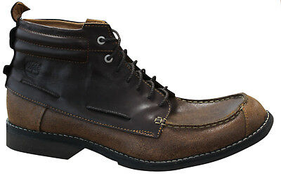 ada33541e608 TIMBERLAND EARTHKEEPERS 8 Eyelet Boots - UK 9M Brown LEATHER💯SAMPLE ...