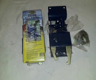 (2) Speeco S16100100 Two-Way Lockable Gate Latch * Value Pack bundle of 2 *