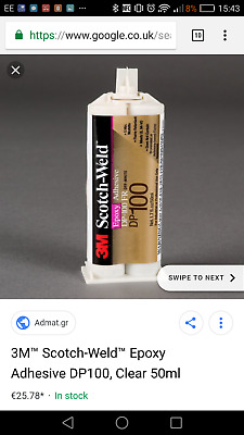 3M DP100 2 Part EPX Epoxy Adhesive 50ml