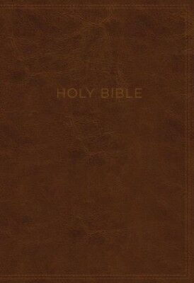 KJV, Know The Word Study Bible, Leathersoft, Brown, Red Letter Edition: Gain a..