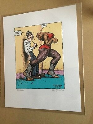 R. Crumb Coffee Table Art Book signed edition