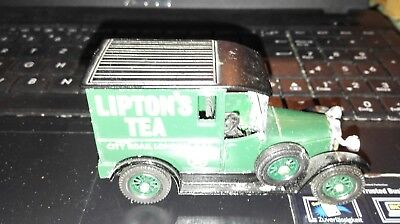 Weihnachten Sammler Hobby Matchbox Models of Yesteryear 1:47Liptons tea