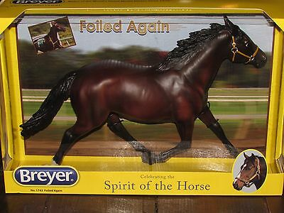 2015 Breyer Traditional Foiled Again-Harness Racing Champion Model Horse-1743