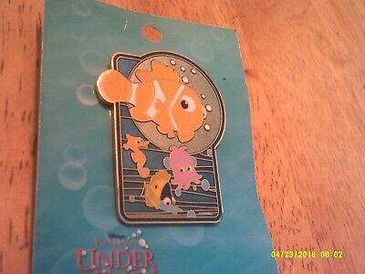 Disney Pin LE 750 NEMO UNDER the SEA Cruise Line 2003