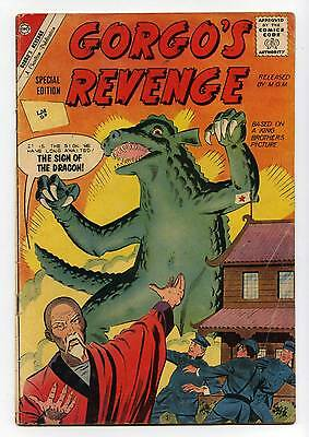 Gorgo's Revenge #1 - Special Edition - Charlton - Silver Age - 1962 - VG+