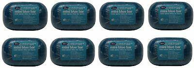 Bliss mini blue bar Soap Lot of 8 Each 1.8oz Bars. Total of 14.4oz