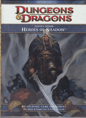 Dungeons & Dragons (4th Ed.): Player's Option - Heroes of Shadow