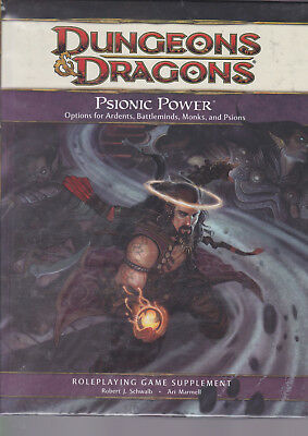 Dungeons & Dragons (4th Ed.): Psionic Power