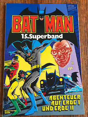 Batman 15. Superband ( Ehapa ) 1982