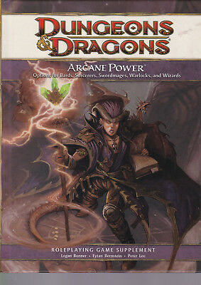 Dungeons & Dragons (4th Ed.): Arcane Power