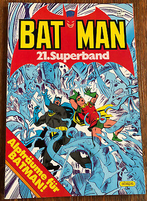 Batman 21. Superband ( Ehapa ) 1985
