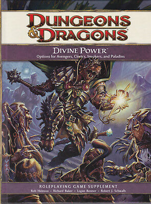 Dungeons & Dragons (4th Ed.): Divine Power