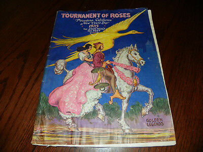Tournament of Roses 1935 New Years Number Pasadena Star News Booklet