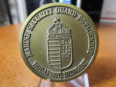 Marine Security Guard Detachment Budapest Hungary USMC MSG Challenge Coin #4695