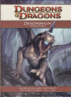 Dungeons & Dragons (4th Ed.): Draconomicon I - Chromatic Dragons