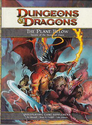 Dungeons & Dragons (4th Ed.): The Plane Below - Secrets of the Elemental Chaos
