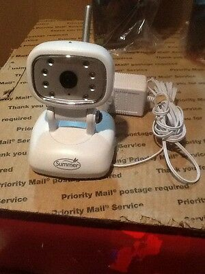 Summer Infant Video Camera Pzk222t Spare Or Extra Camera Tested Working CLEAN