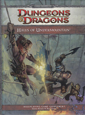 Dungeons & Dragons (4th Ed.): Halls of Undermountain