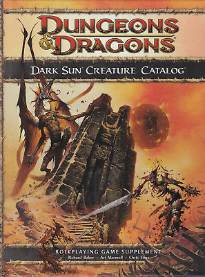 Dungeons & Dragons (4th Ed.): Dark Sun Creature Catalog