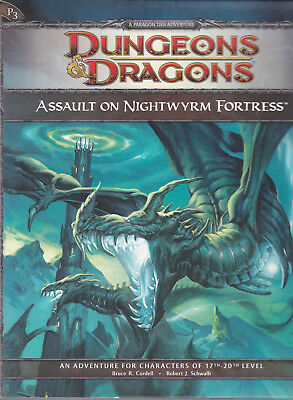 Dungeons & Dragons (4th Ed.): Assault on Nightwyrm Fortress