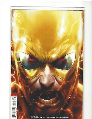 Flash #46 Cover B Variant Francesco Mattina Cover 1st Print  DC 2018
