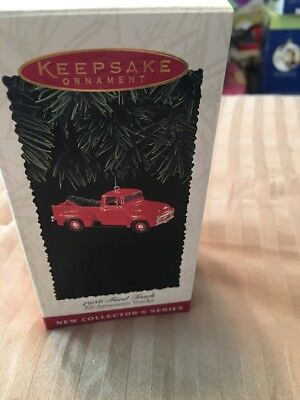 Hallmark Ornament 1956 Ford Truck - All American Trucks 1st in Series New