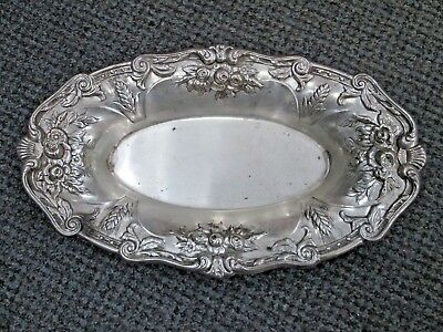 Antique Frank M Whiting Sterling Silver Dish Bread Tray Bowl 1212